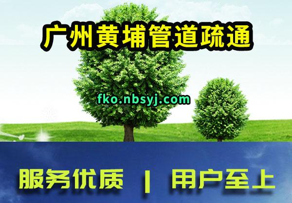 广州黄埔管道疏通真心谋划