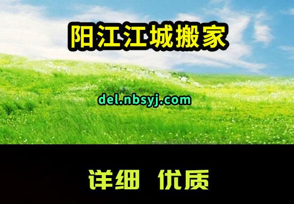 阳江江城搬家公司真情做生意